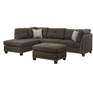 Draco Sectional Sofa with Ottoman