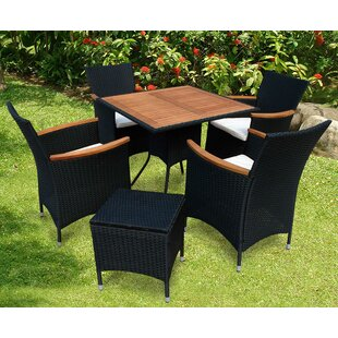 Valencia 4 Seater Dining Set With Cushions Image