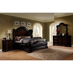 Ayan Panel 5 Piece Bedroom Set