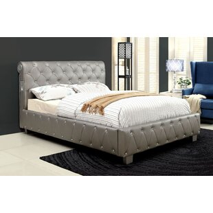Buy clear Tyson Upholstered Platform Bed by Rosdorf Park Reviews (2019) & Buyer's Guide