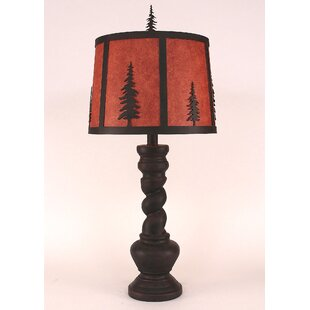 Barley twist table lamp wayfair goodman feather tree with twist 33 table lamp aloadofball Images