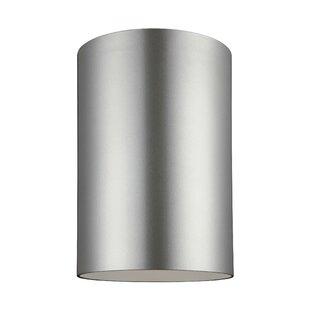 Orren Ellis Kieu 1-Light LED Outdoor Wall Sconce