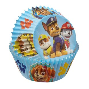 Paw Patrol Paper Disposable Baking Cups (Set of 8)