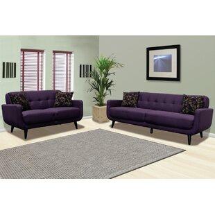 Calla 2 Piece Living Room Set