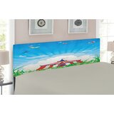 Circus Upholstered Panel Headboard by East Urban Home