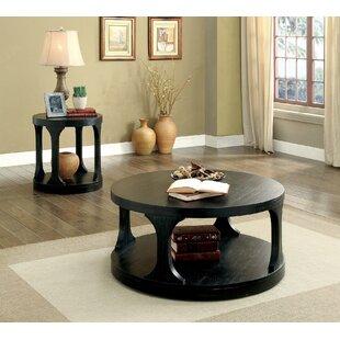 Andrew Home Studio Pinecrest 2 Piece Coffee Table Set