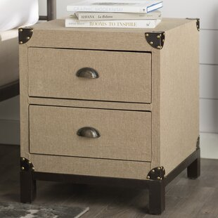 Robesonia 2 Drawer End Table