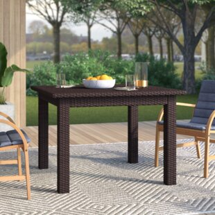 Belton Wicker/Rattan Dining Table by Merc..