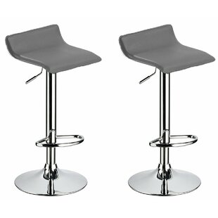 Compare Kreatz Adjustable Height Swivel Bar Stool (Set of 2) by Orren Ellis Reviews (2019) & Buyer's Guide