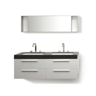 54 vanity double sink. Save To Idea Board  Home Haus 54 Double Vanity 51 55 Vanities You Ll Love Wayfair