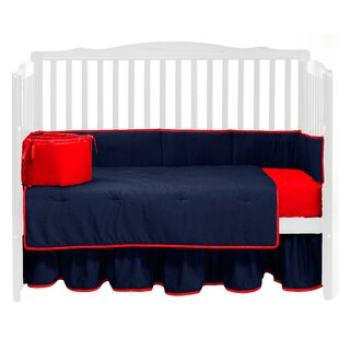 Affordable Solid 4 Piece Crib Bedding Set ByBaby Doll Bedding