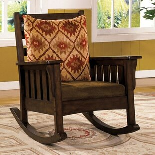 Lucy Rocking Chair By Millwood Pines