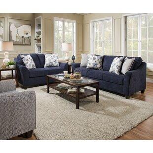 Navy Blue Living Room Set Wayfair