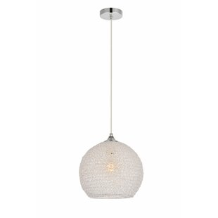 Bainum 1-Light Pendant by Orren Ellis