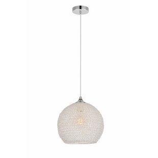 Bainum 1-Light Pendant by Orren Ellis