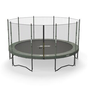 ACON USA Air 15' Round Trampoline with Safety Enclosure
