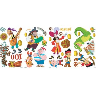 Popular Characters Jake And The Neverland Pirates Wall Decal