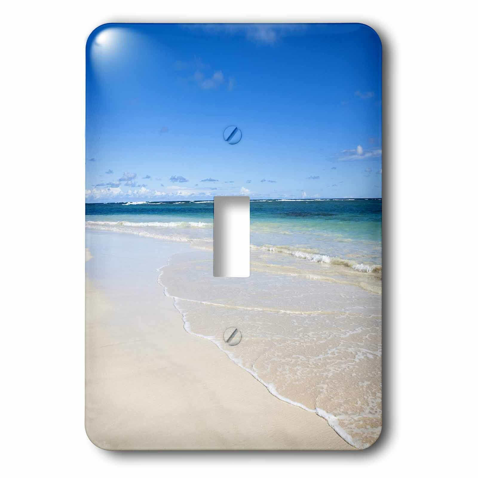 3drose Tropical Beach 1 Gang Toggle Light Switch Wall Plate Wayfair