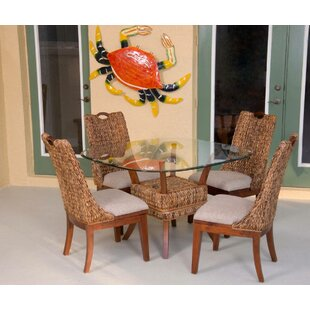 Belize 5 Piece Dining Set by Alexander & Sheridan Inc. Best #1
