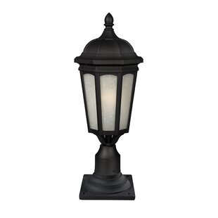 Laceyville 1-Light Pier Mount Light by Charlton Home