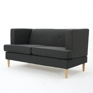 Ariade Fabric Loveseat by Zipcode Design