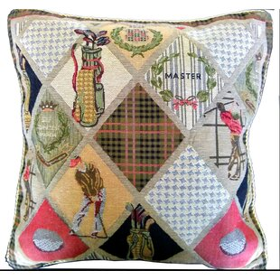 Day on The Course Pillow Case