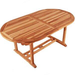 Ausziehbarer Esstisch Saint Lucia  aus Holz von SAM Stil Art Möbel GmbH