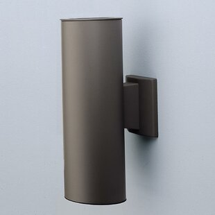 Savings 12 2- Light Outdoor Wall Sconce By NICOR Lighting