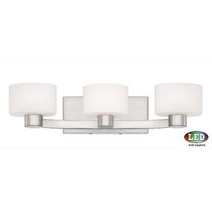 Ebern Designs Myrtlewood 3-Light Vanity Light
