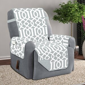 Box Cushion Recliner Slipcover & Grey Recliner Slipcovers Youu0027ll Love | Wayfair islam-shia.org