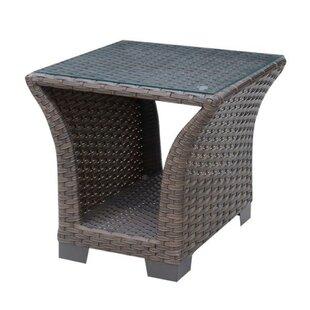 Mcevoy Wicker Side Table