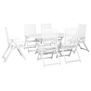 Chavis 6 Seater Dining Set By Sol 72 Outdoor