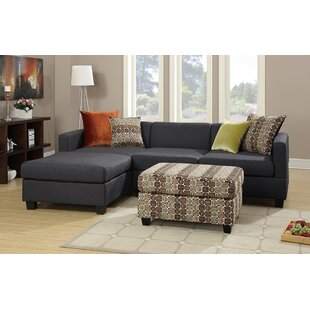 Mtamore Left Hand Facing Sectional with Ottoman