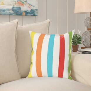 Ricky Square Stripes Printed Pillow Cover