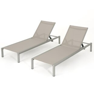 Sumfleth Reclining Chaise Lounge (Set of 2)