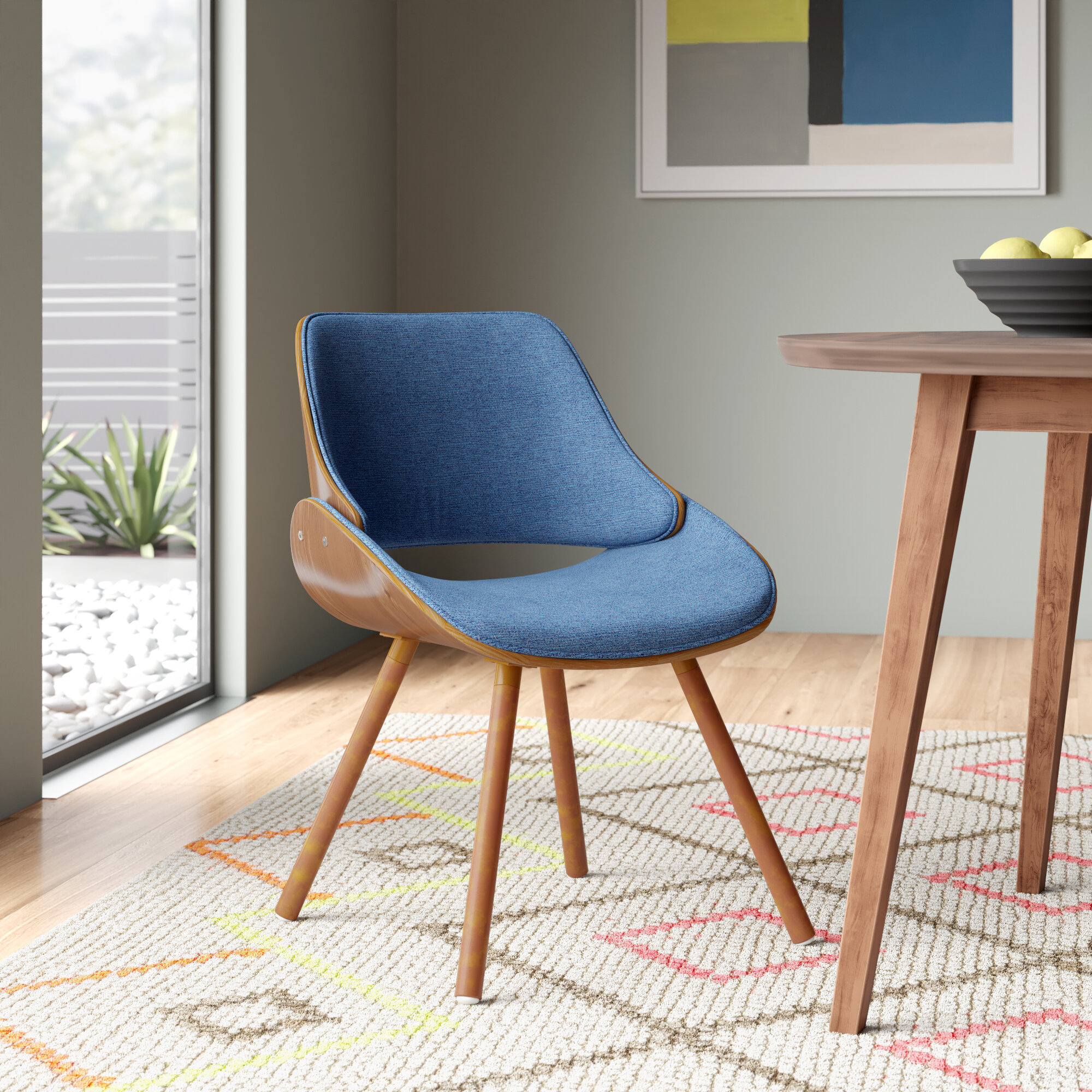 Remarkable Arno Modern Upholstered Dining Chair Ibusinesslaw Wood Chair Design Ideas Ibusinesslaworg