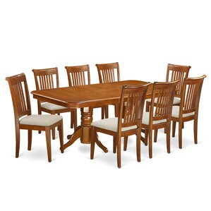 Naport 9 Piece Dining Set by East West Furniture