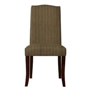Red Barrel Studio Lasseter Stripe Parsons Chair (Set of 2)