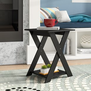 Top Reviews Artesian Modern Criss-Crossed End Table By Ebern Designs