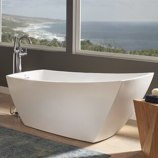 "Stella® 67"" x 31"" Freestanding Soaking Bathtub"