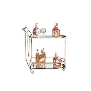 Brayden Studio Westra Bar Cart