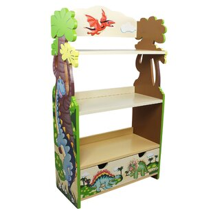Dinosaur 95.9cm Bookcase By Fantasy Fields By Teamson
