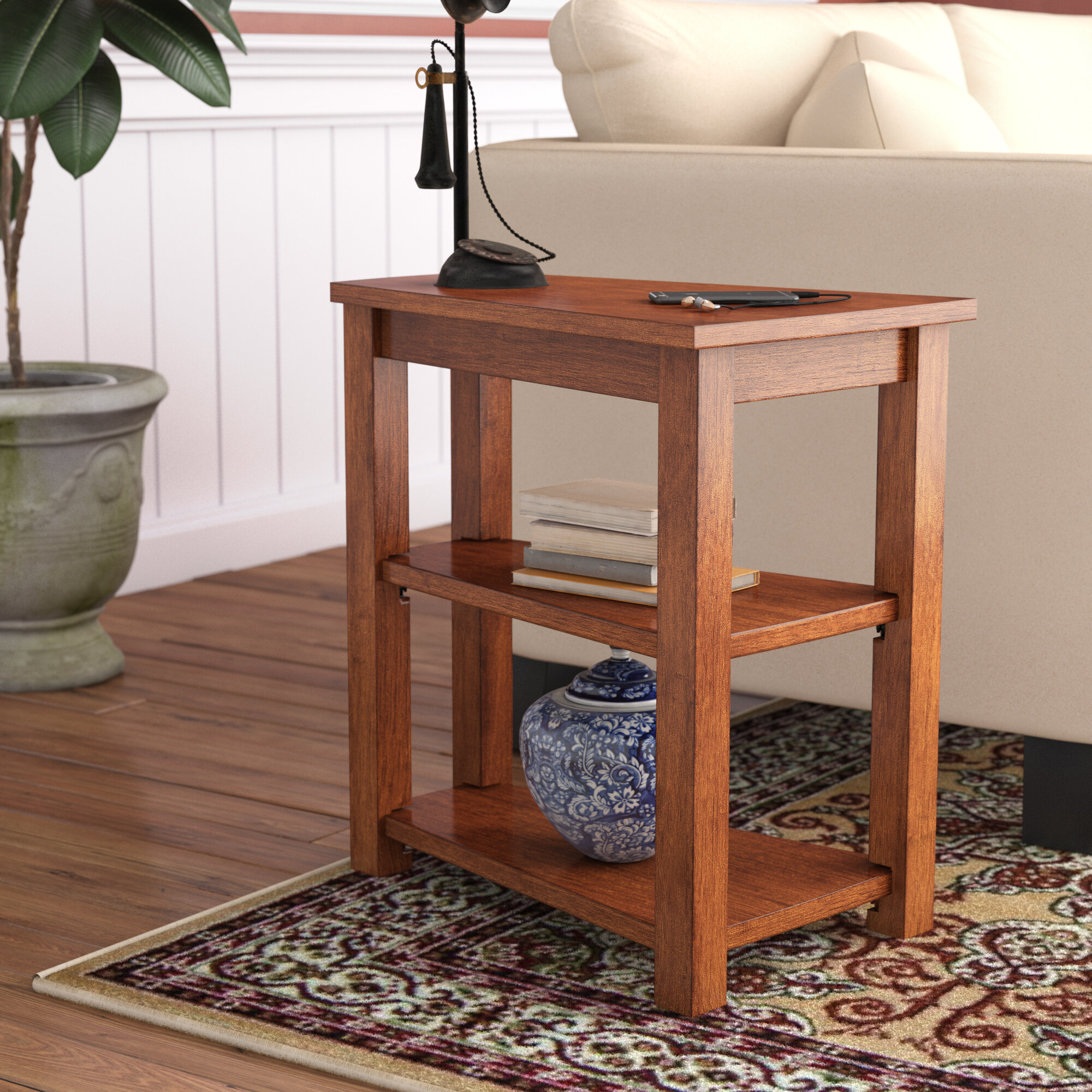Small Triangle End Side Tables You Ll Love In 2021 Wayfair