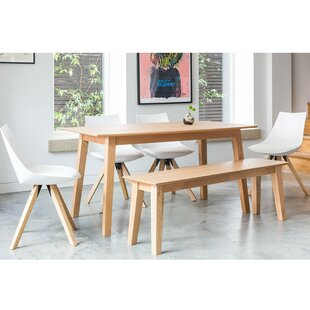 Evergreen dining set with 4 chairs and 1 bench by norden home for sale evergreen dining watchthetrailerfo