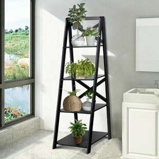 Sites Shelf Storage Display Ladder Bookcase (Set of 2)