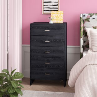 Manan 5 Drawer Standard Chest by Willa Arlo Interiors