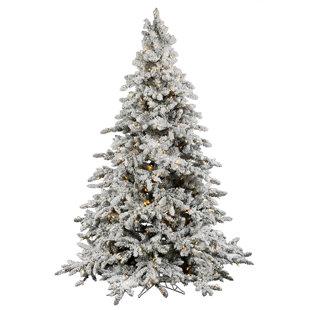 superior quality 22e01 09bbb White Pre-Lit Christmas Trees You'll Love | Wayfair