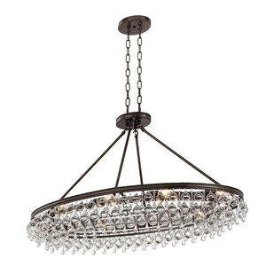 Devanna 8-Light Crystal Chandelier