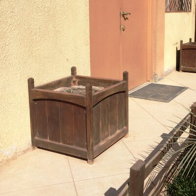 Mahogany Wood Planter Box Best Redwood