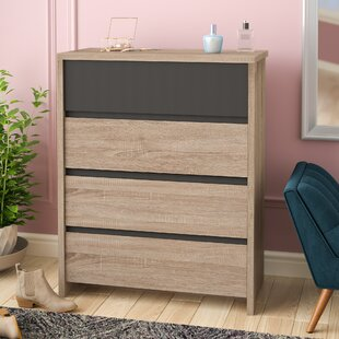 Ashton Modern 4 Drawer Chest
